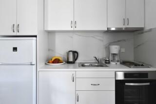 accommodation agrabeli apartments kitchen