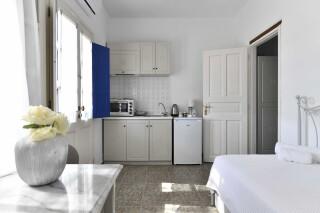 room four agrabeli apartments kitchenette