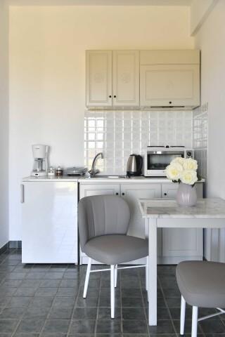 room seven agrabeli apartments kitchenette