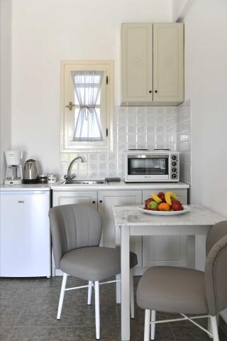 room three agrabeli apartments kitchenette
